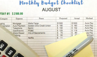 Paperless Bill Paying Checklist