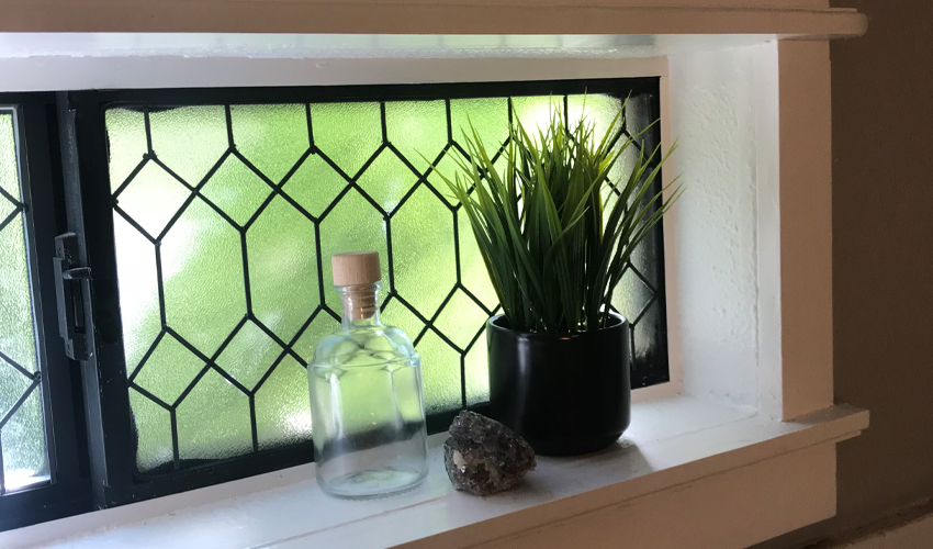 Diy Faux Leaded Gl Window Urban Cottage Living