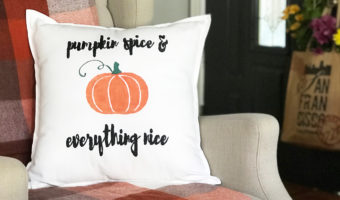 Cheap DIY Fall Pillow Covers